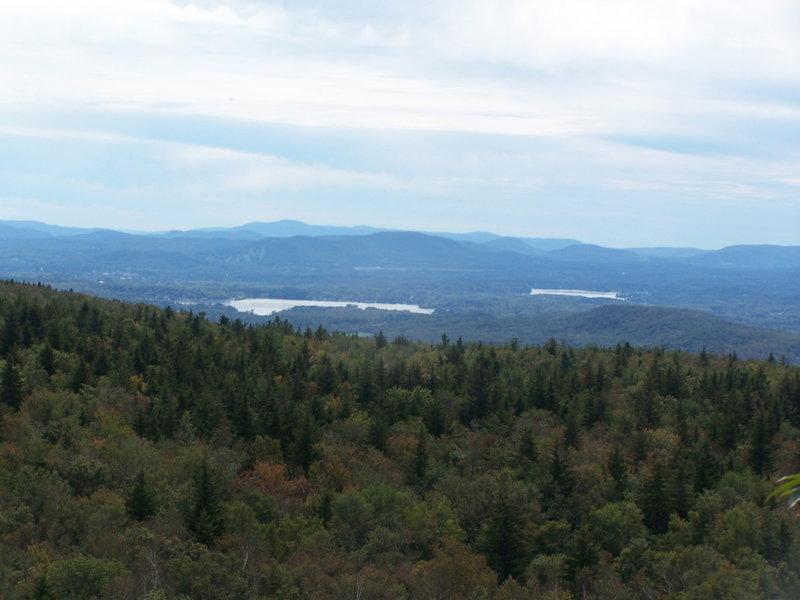 Pontsuc Lake and Onota Lake