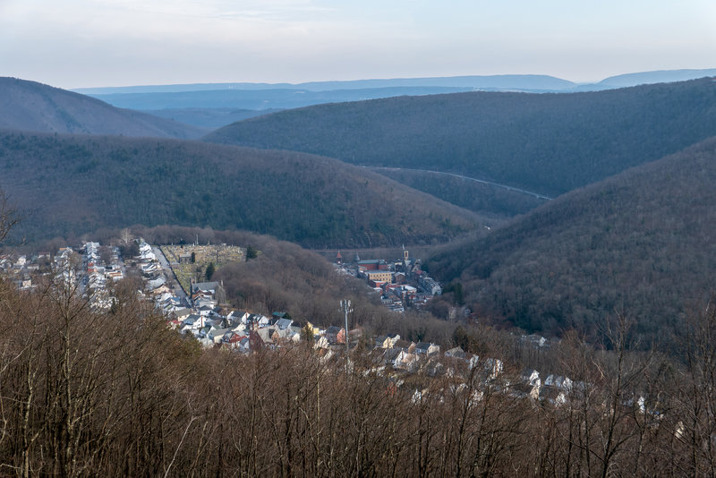 Jim Thorpe from Switchback Trail
