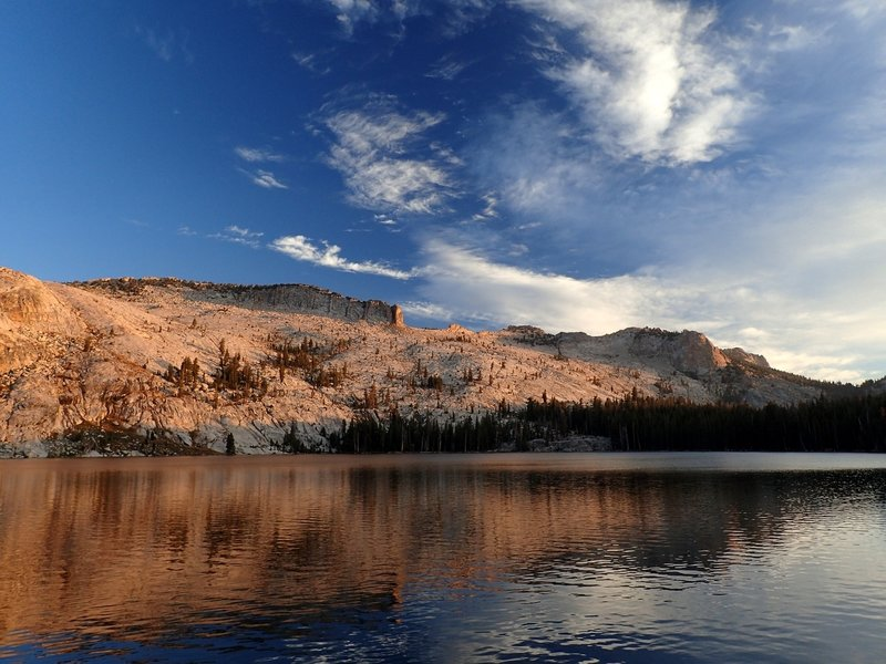 Morning at May Lake