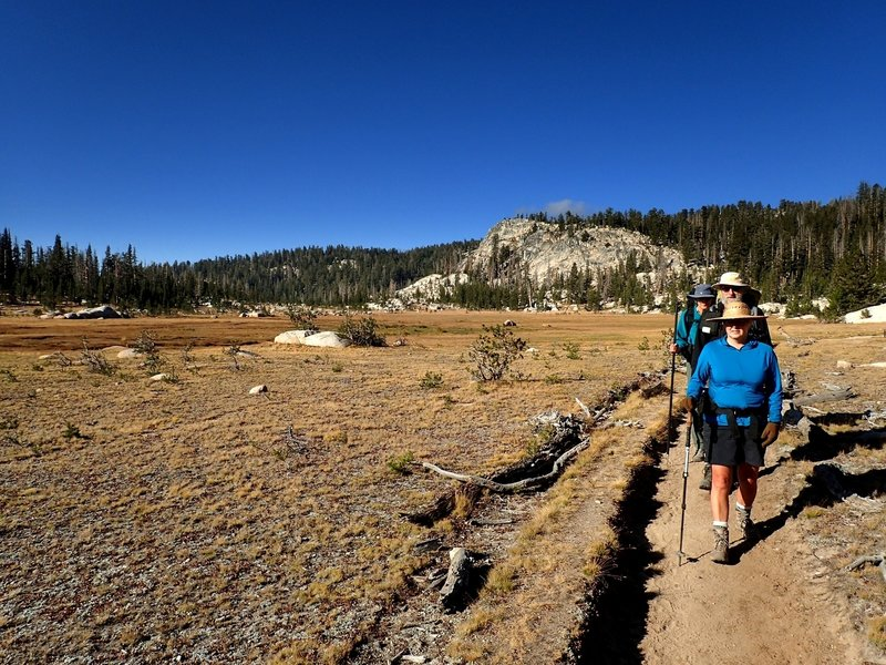 On the John Muir Trail near Sunrise High Sierra Camp