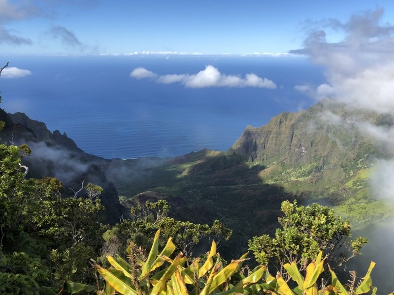 Fantastic view of Kalalau.