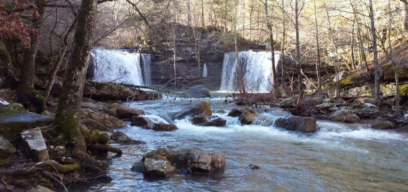 Twin Falls (from below)