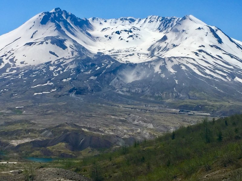 Mt St Helens from Boundary Trail