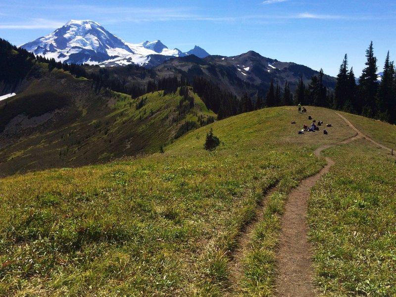 Skyline Divide and Mt Baker