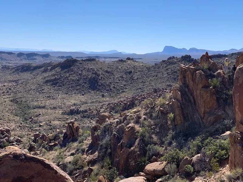 View from balanced rock.