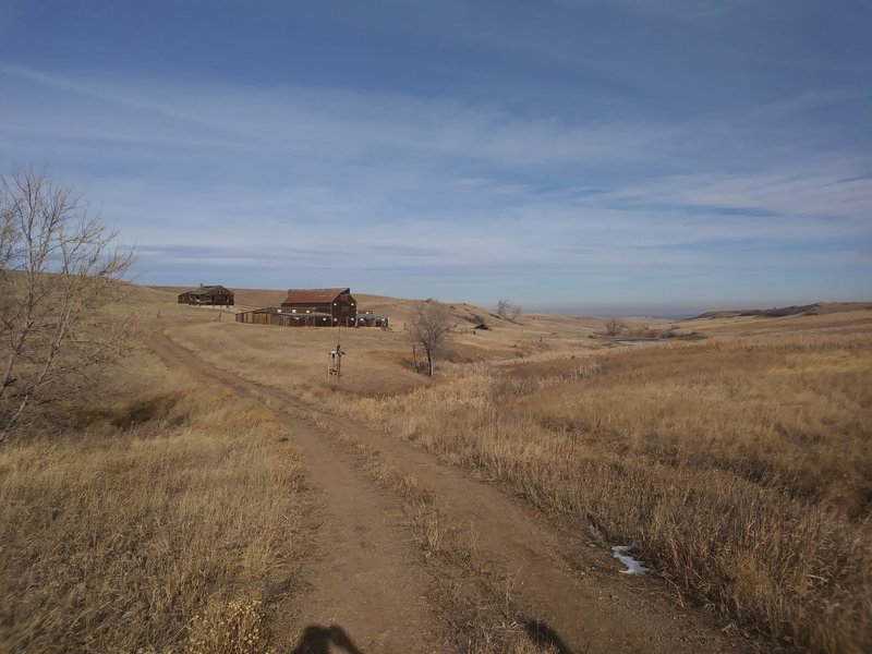 The Lindsay Ranch Loop part of the 8.4 mile Rocky Mtn. Greenway trail. We did 5.3 miles this day
