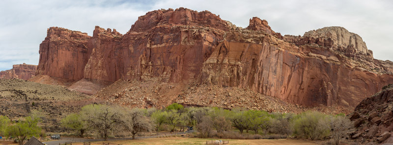 Fruita and the Waterpocket Fold across from Highway 24