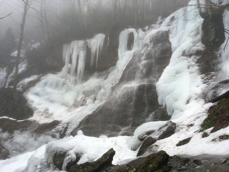 March Cataract Falls (Jan. 5, 2019)