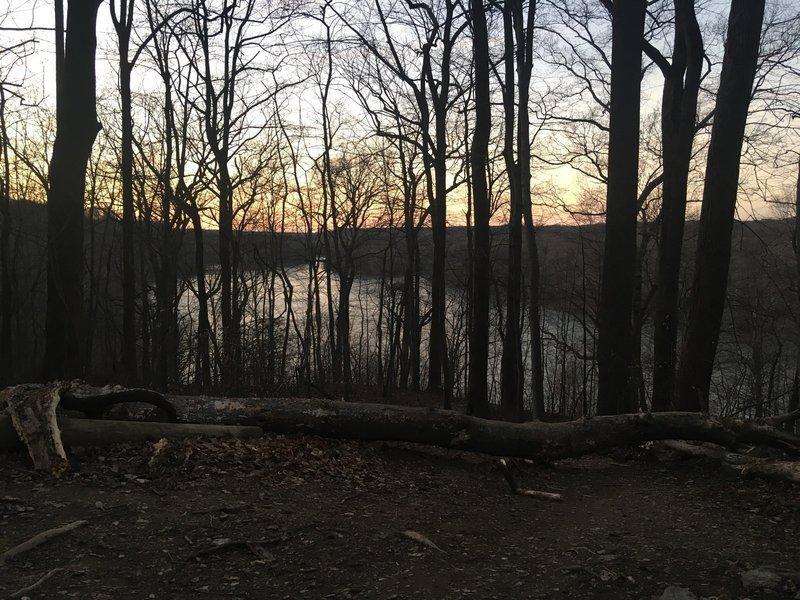 Looking northwest across the Potomac!