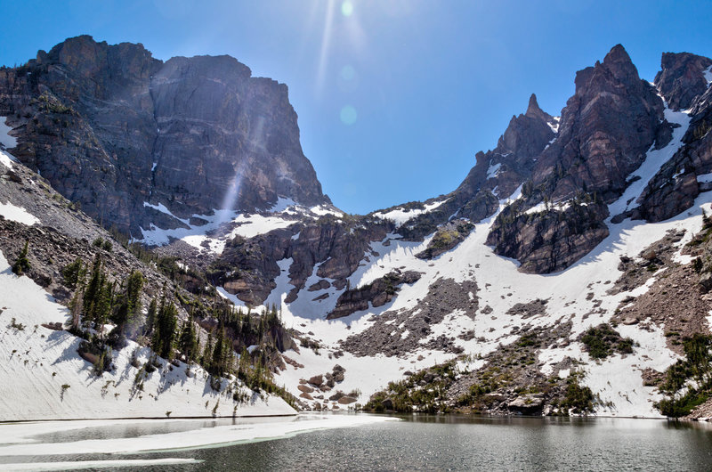 Rewarding views of Dream Lake