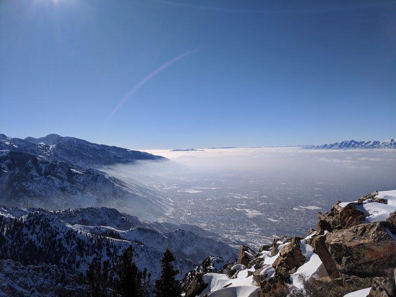 Mount Olympus summit.