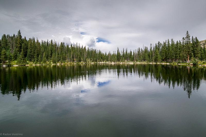 The lower Granite Lake