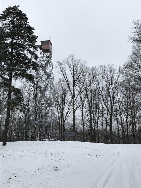 Brush Ridge Fire Tower