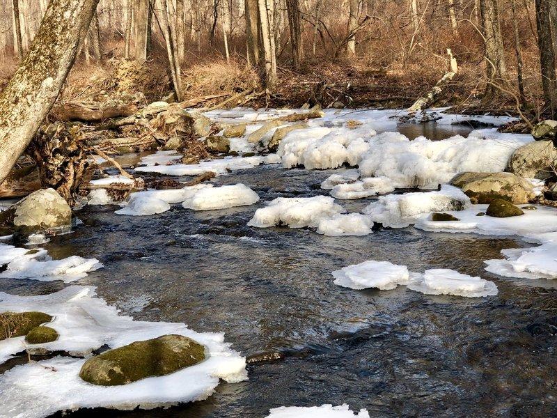 Little River a-babble