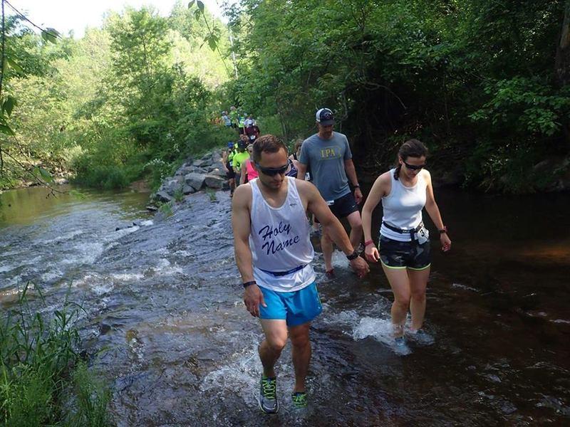 Second crossing of Hay Creek