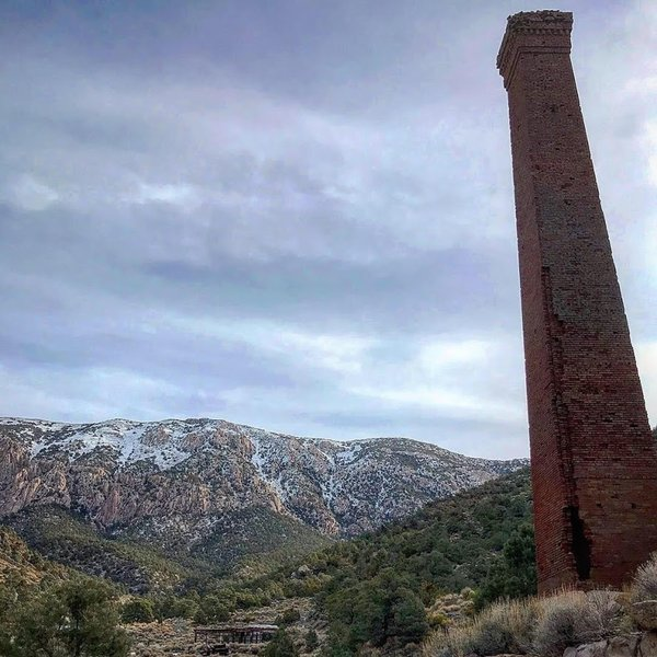 Smelter Stack in Panamint City