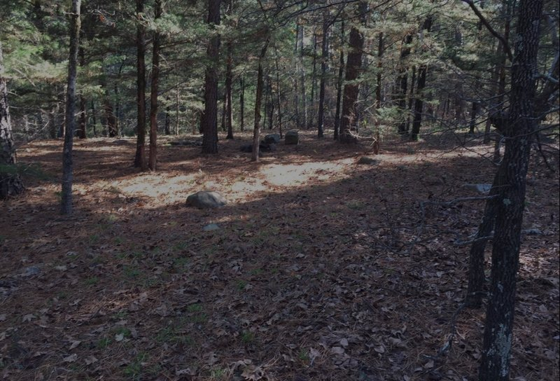 One of many Perfect campsites along this trail!