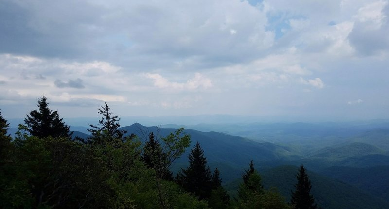 View from Devil's Courthouse