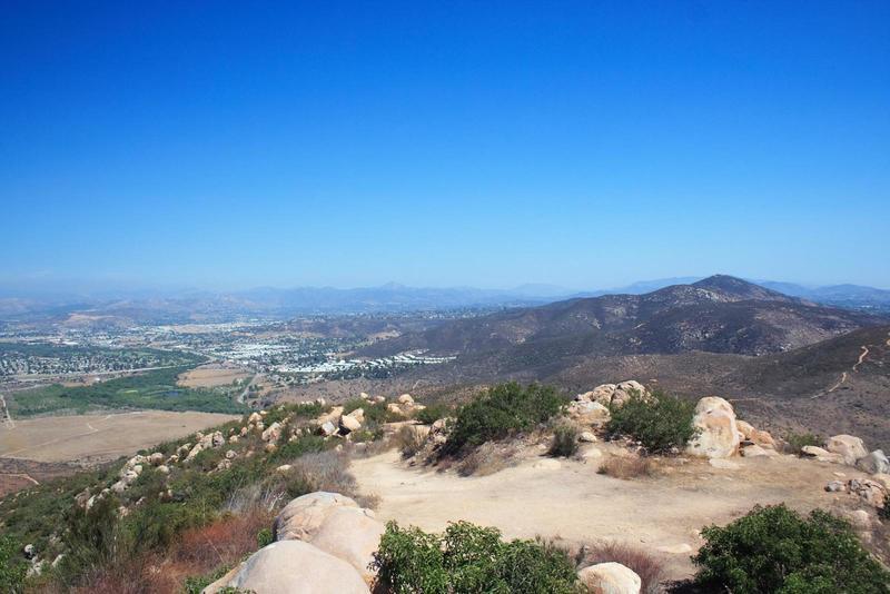 North Fortuna Summit views.