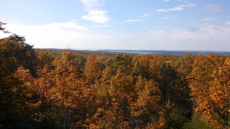 View from Pete Bond Scenic Overlook
