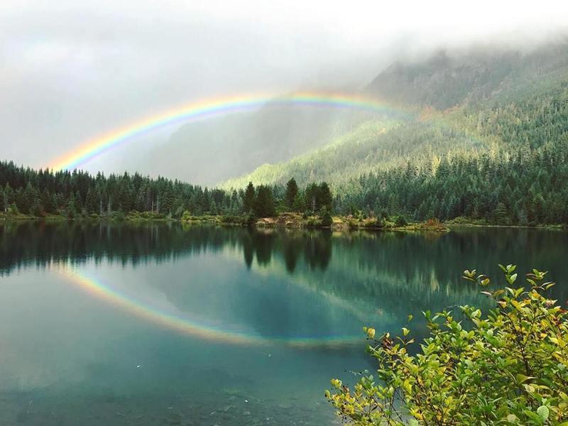 Gold Creek Pond.