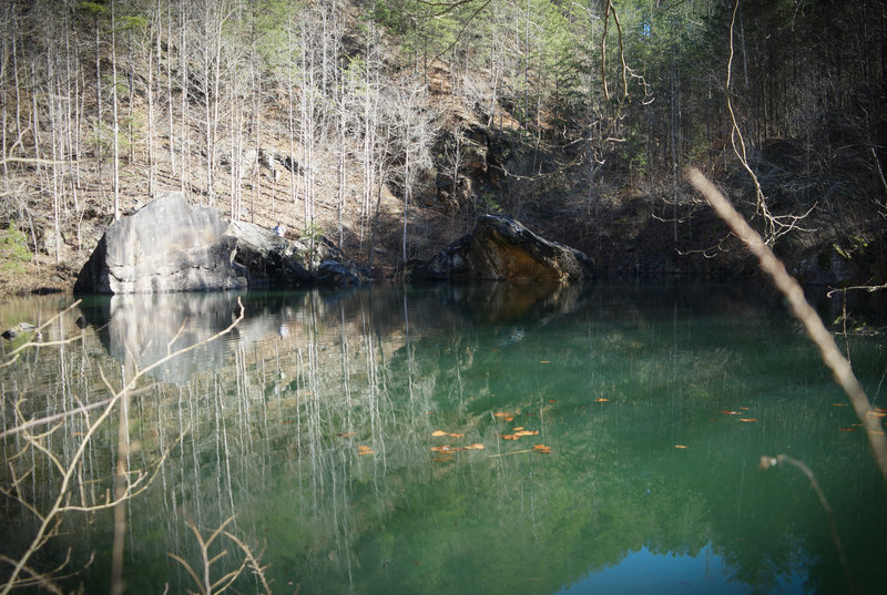 Civillian Conservation Corps (CCC) Rock Quarry Lake
