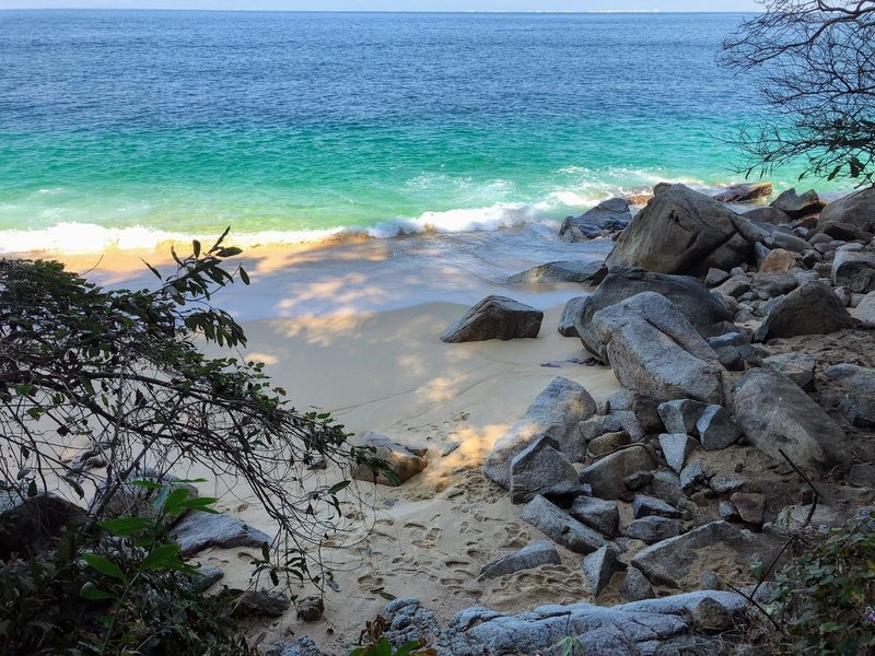 Secluded beach all to yourself