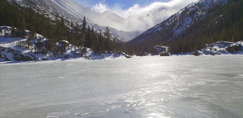 Mills Lake looking south towards Black Lake