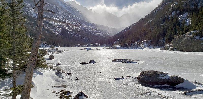 December visit to Mills Lake