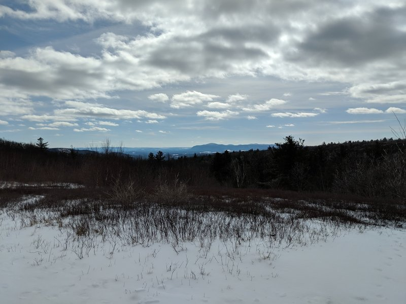 view of Mt. Everett (MA) and Bear Mt (CT) from Harvey Mt (NY)