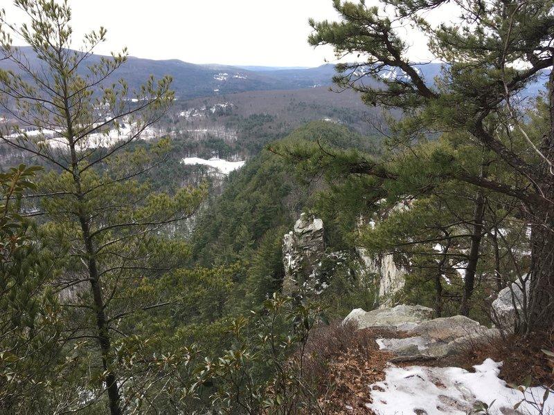 View of the Devil's Pulpit.