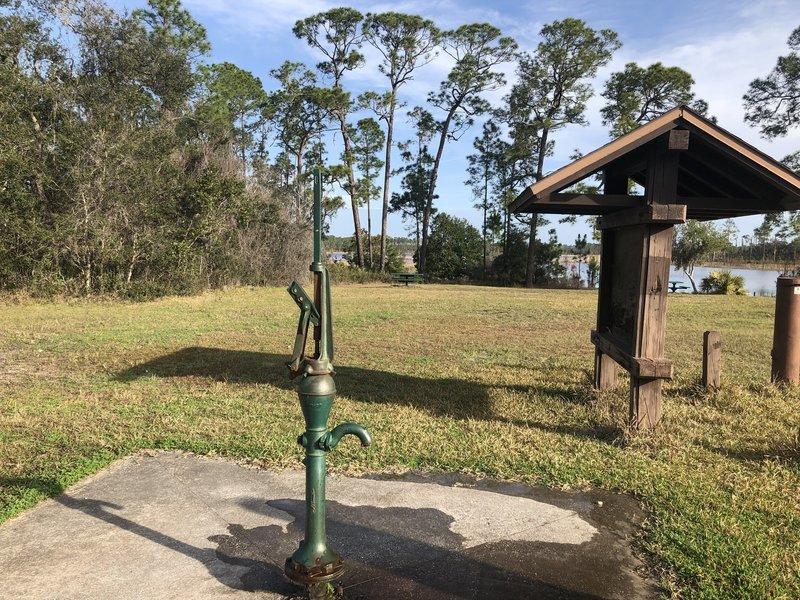 Farles Prairie Recreation Center - Water Hand Pump