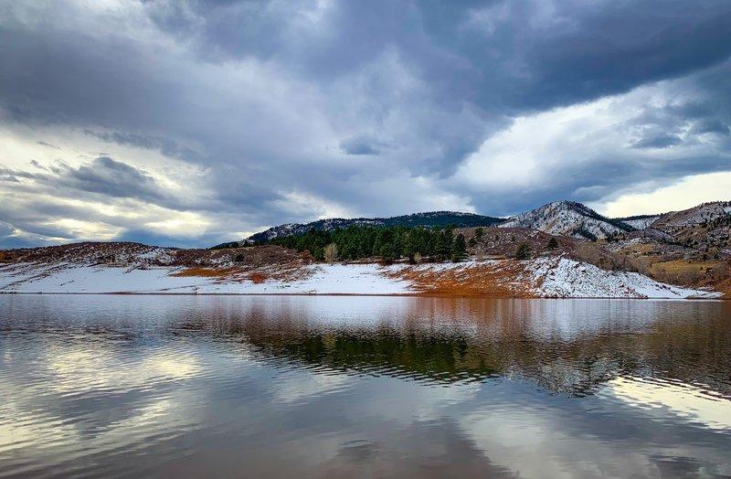 Satanka Cove, Horsetooth Reservoir. Fort Collins, Co