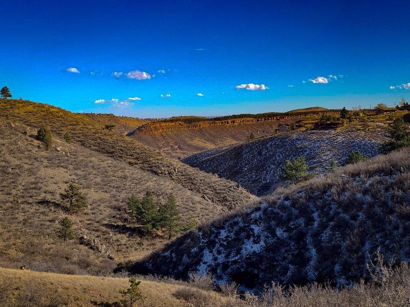 Horsetooth Mountain Park, Fort Collins, Colorado.
