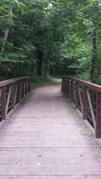 Bridge at 7 Mile Creek