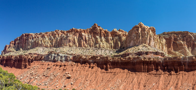 Capitol Reef from Old Wagon Trail