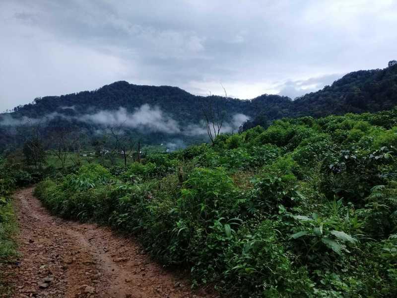 Mountain village view