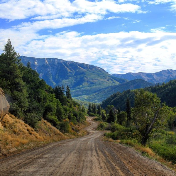 One of my favorite pictures. On the road to Crested Butte.