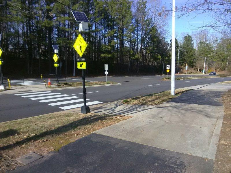 Safe road crossing of NW Maynard Road