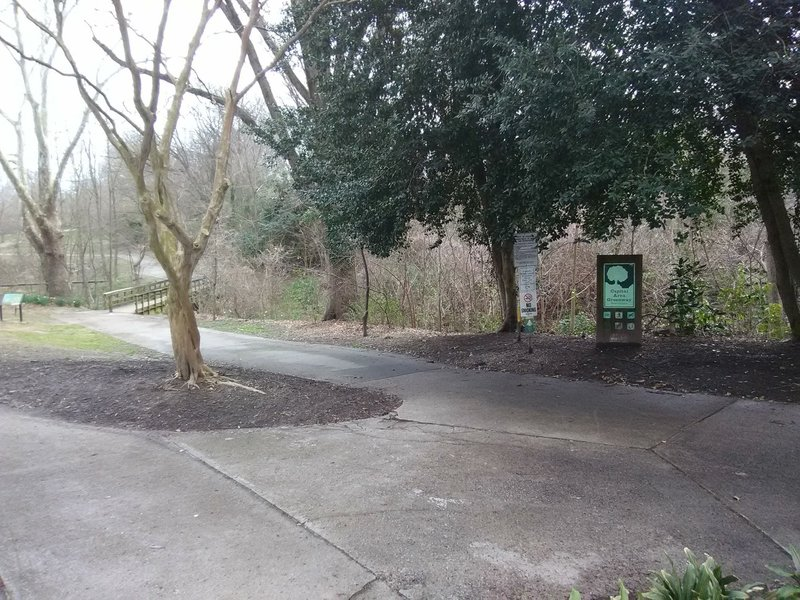 Chavis Park Entrance