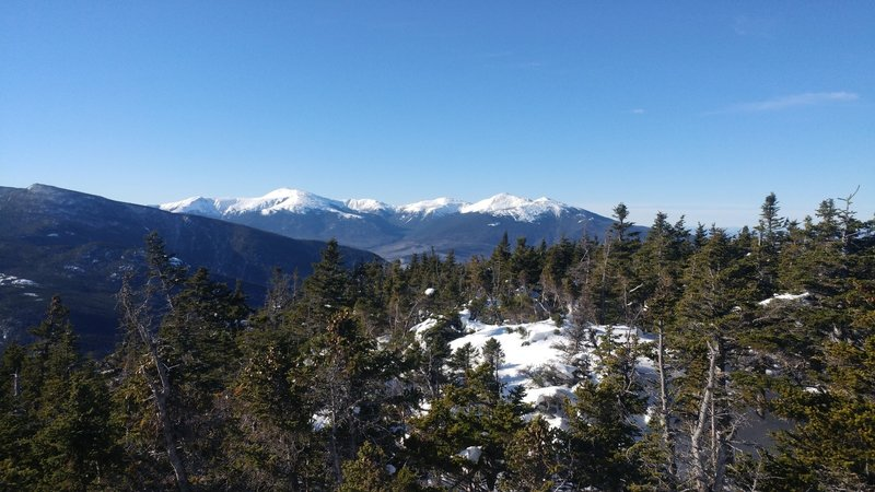 View of presi's from Moriah Summit.