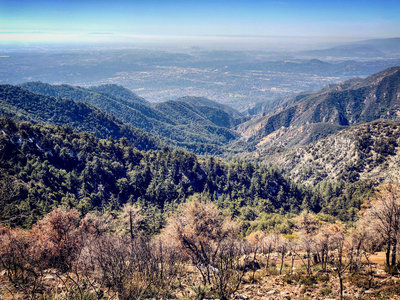 on chantry flats hiking trails map