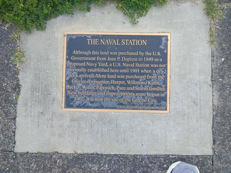 Naval Station.....now closed