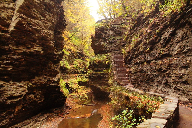 Stairs in the Gorge