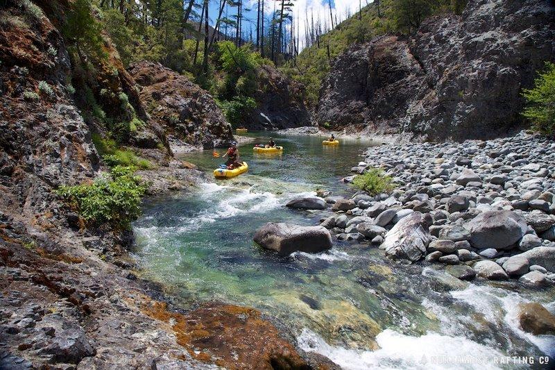 Magic Canyon of the Chetco River