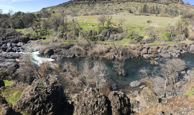 Upper Bidwell Park Loop South Side Hiking Trail Chico California
