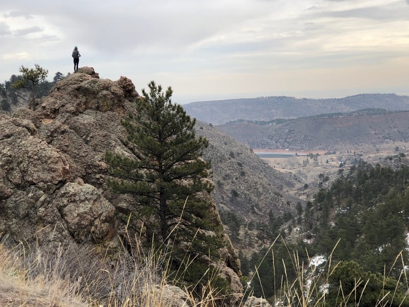 Soderberg connector trail overlook