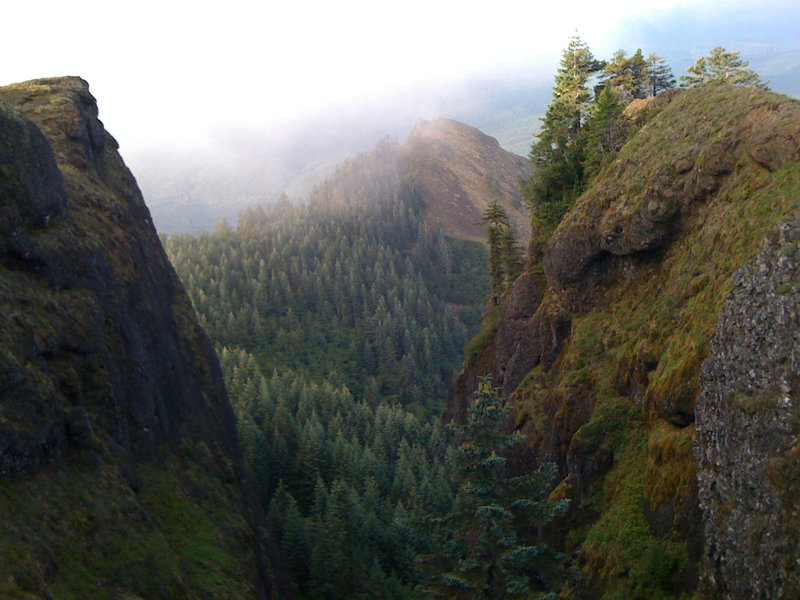 View from Saddleback Mountain