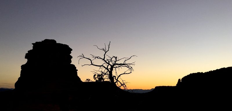 Last Light Over Sedona
