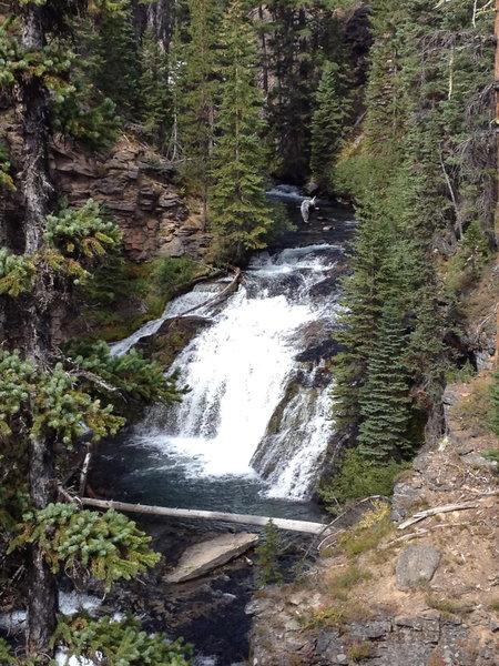 More falls along Tumalo Creek.